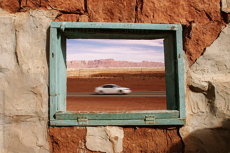 Desert Window by Raymond Forbes LLC for Stocksy United