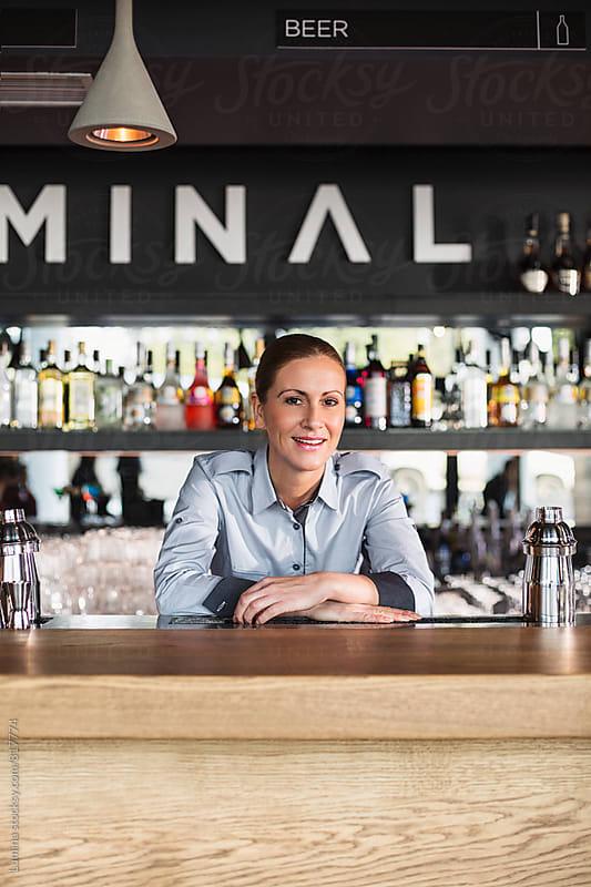 Waitress in the Bar by Lumina for Stocksy United