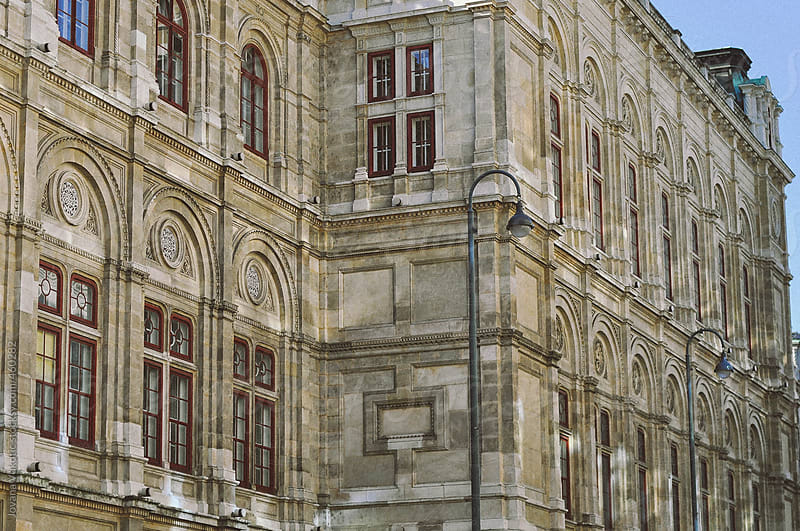 Beautiful building in Viena by Jovana Vukotic for Stocksy United