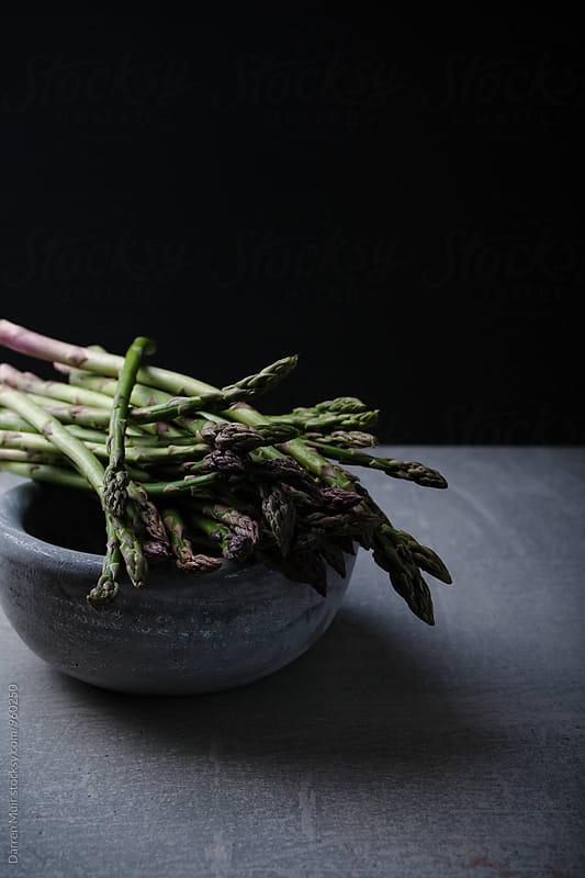 Asparagus bundle. by Darren Muir for Stocksy United