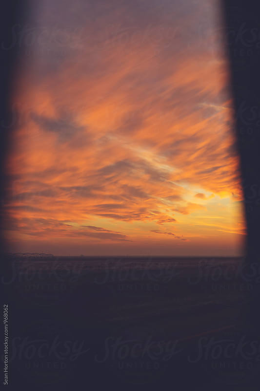 Missouri Sky Through Window by Sean Horton for Stocksy United