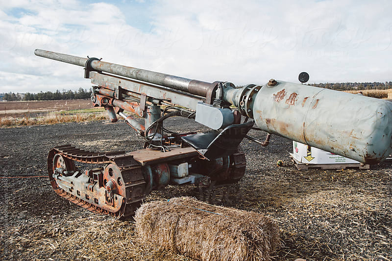 Cannon by neongrounds for Stocksy United