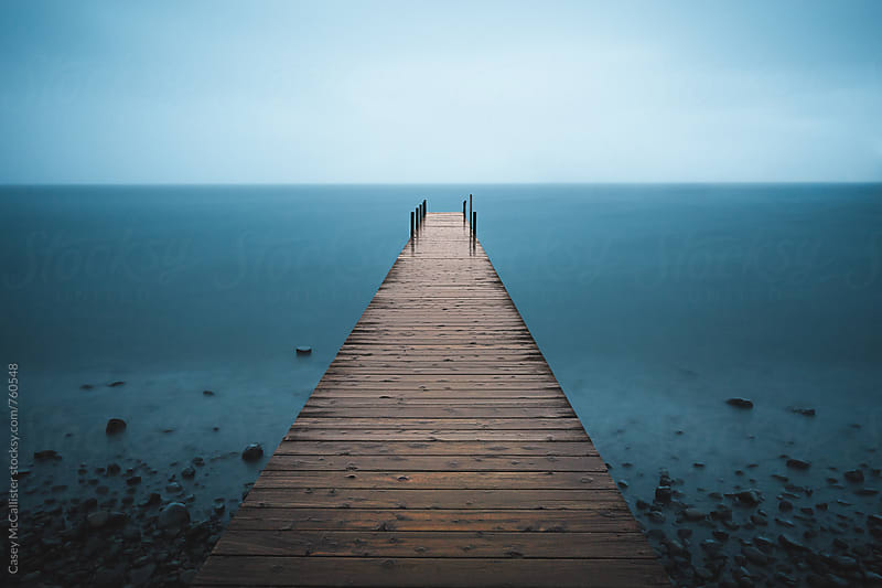 Tahoe Pier by Casey McCallister for Stocksy United