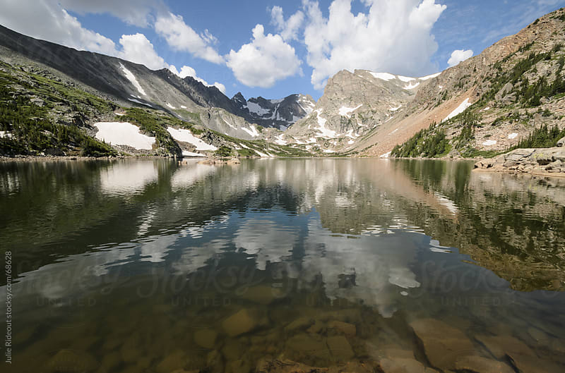 Colorado Alpine Lake by Julie Rideout for Stocksy United