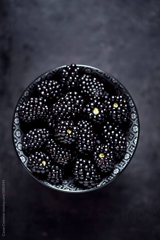 fresh blackberries by Canan Czemmel for Stocksy United