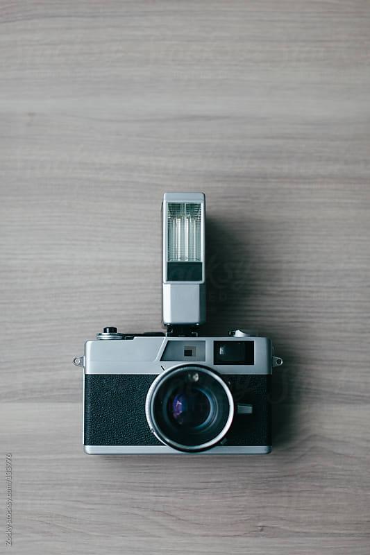 Retro camera by Zocky for Stocksy United