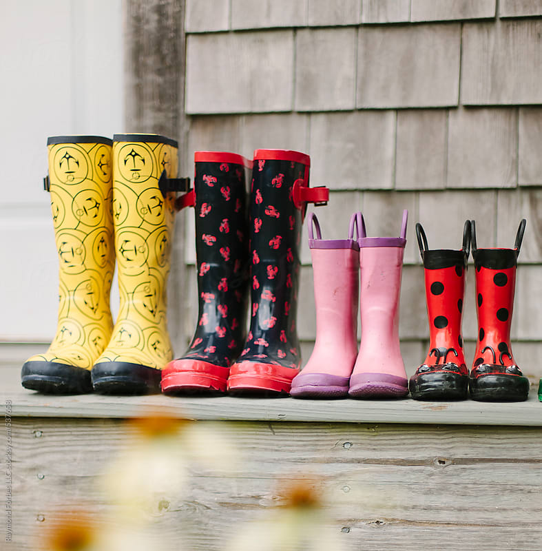 Boots on Porch by Raymond Forbes LLC for Stocksy United