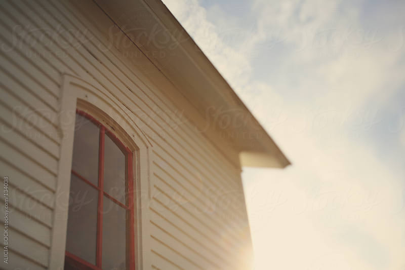 Sunlight On A White House by ALICIA BOCK for Stocksy United
