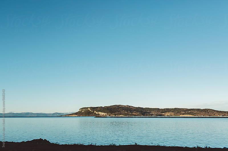 Lake in Norway by Sophia van den Hoek for Stocksy United
