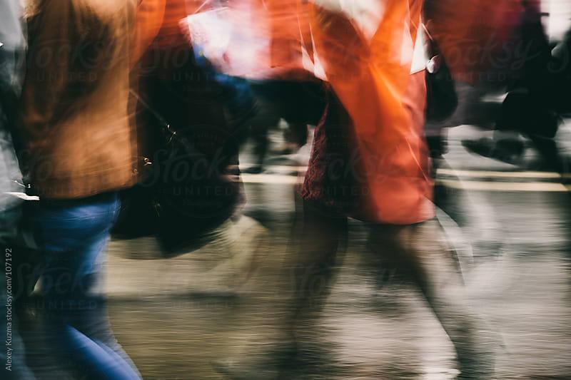 on the street by Alexey Kuzma for Stocksy United