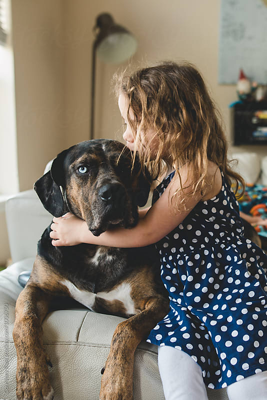 Love for her pet by Courtney Rust for Stocksy United