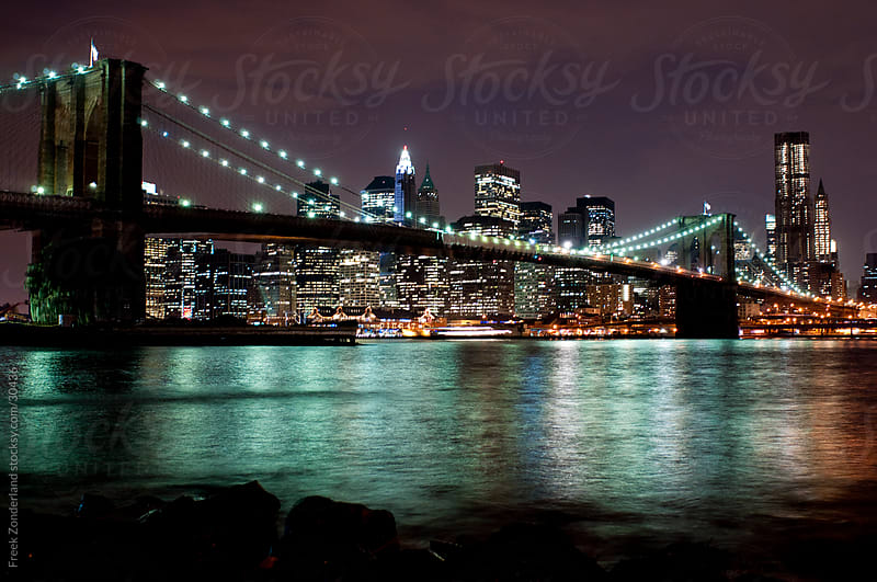 Brooklyn Bridge  by Freek Zonderland for Stocksy United