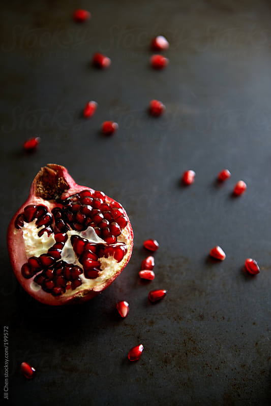 Ripe and red and ready to eat by Jill Chen for Stocksy United