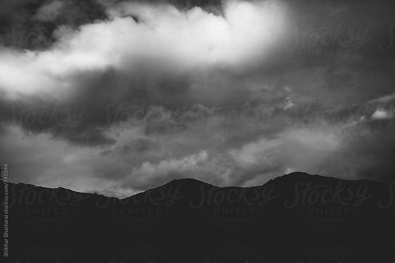 Dark overcast sky. by Shikhar Bhattarai for Stocksy United