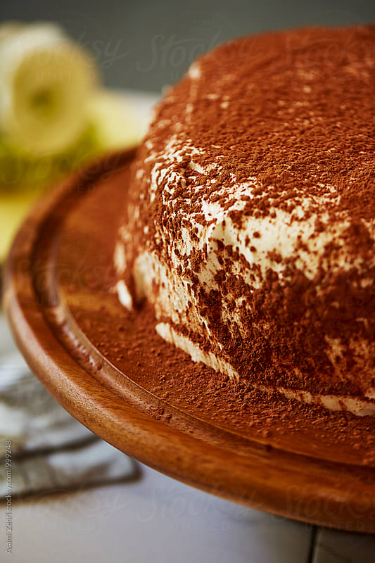 Tiramisu cake by Asami Zenri for Stocksy United