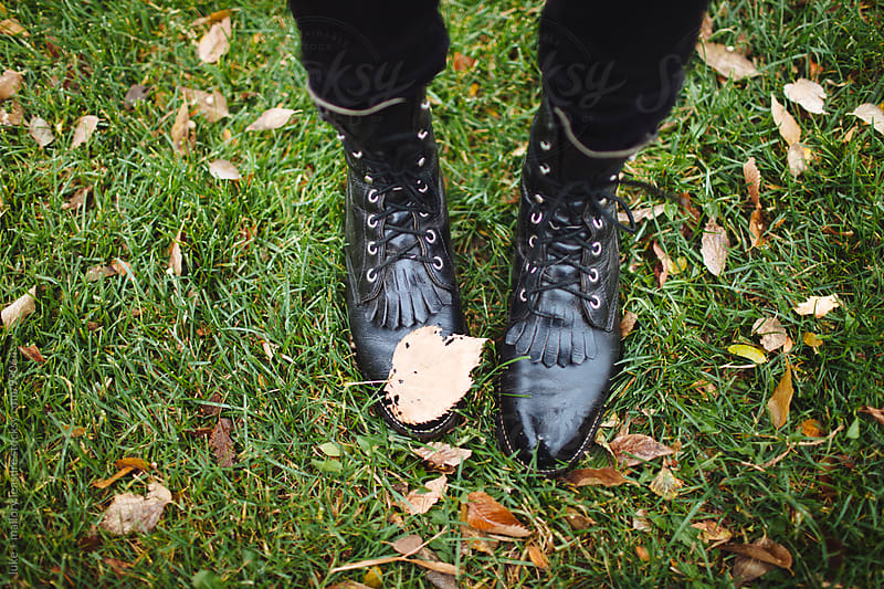 Fall Feet by luke + mallory leasure for Stocksy United