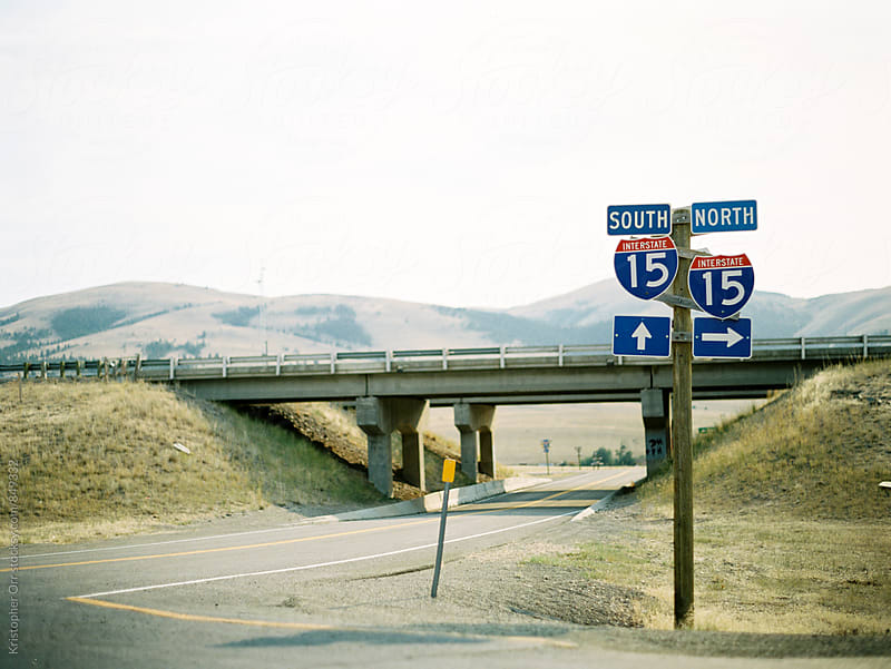 I-15 Road Trip by Kristopher Orr for Stocksy United