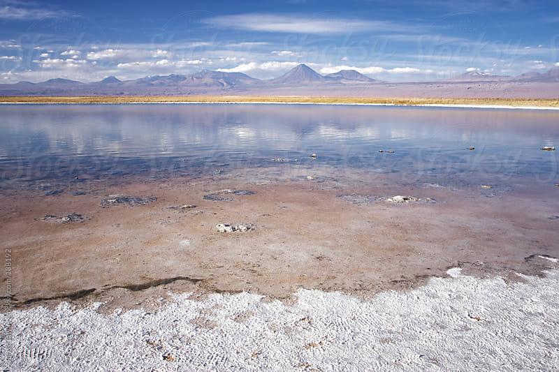 Atacama salt flat landscape. by Jon Attaway for Stocksy United