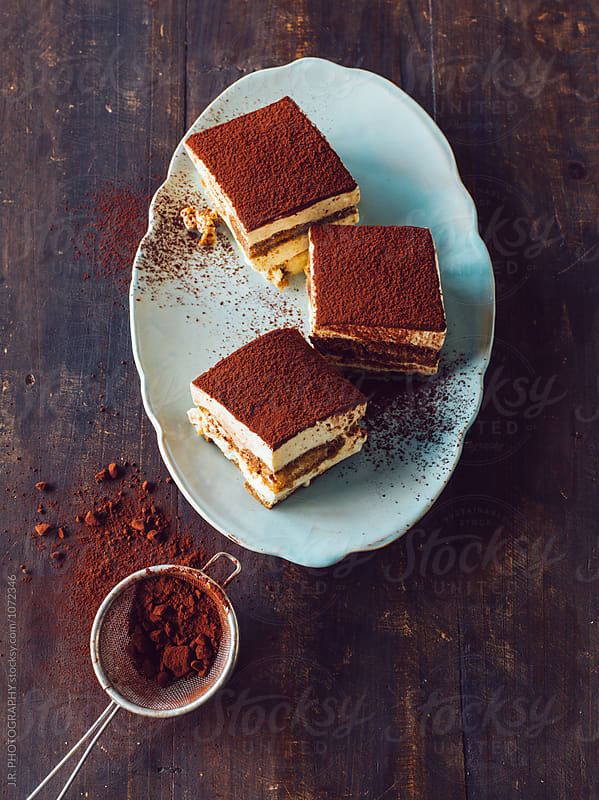 Tiramisu by J.R. PHOTOGRAPHY for Stocksy United