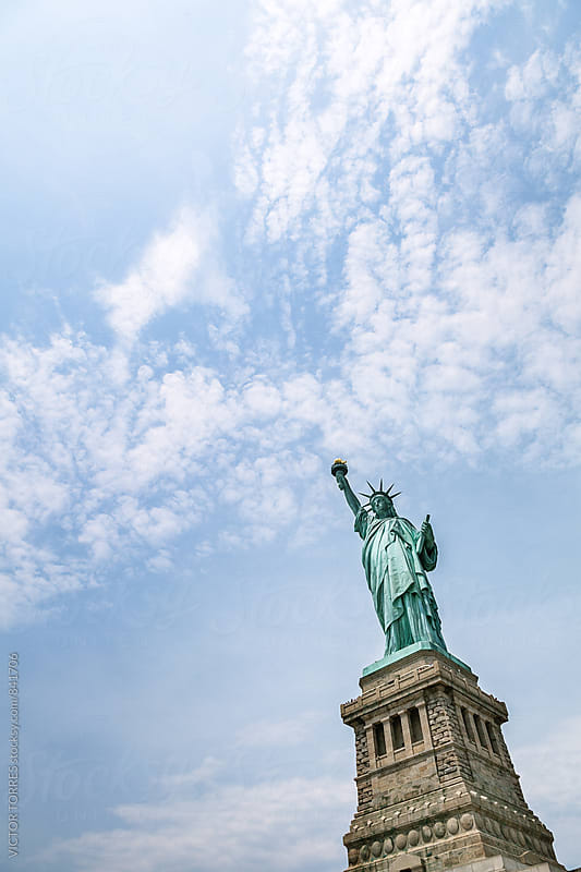 The Statue of Liberty, New York by Victor Torres for Stocksy United
