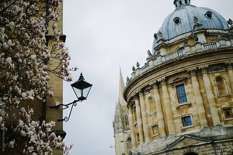 View of the Radcliffe Camera in Spring by Kirstin Mckee for Stocksy United