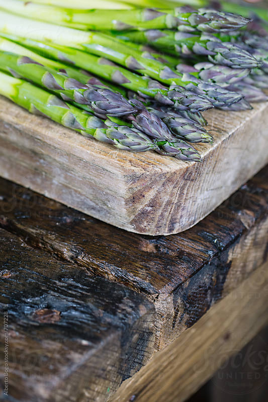 Fresh Asparagus by Alberto Bogo for Stocksy United