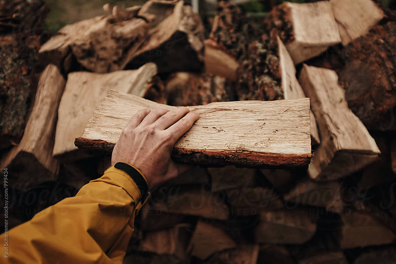 firewood by Paul Schlemmer for Stocksy United