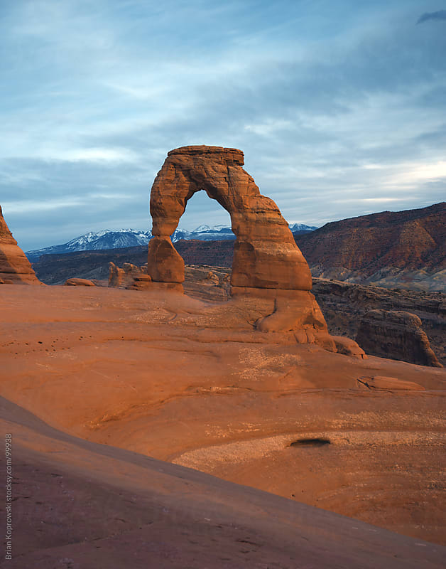 Vertical Delicate Arch by Brian Koprowski for Stocksy United