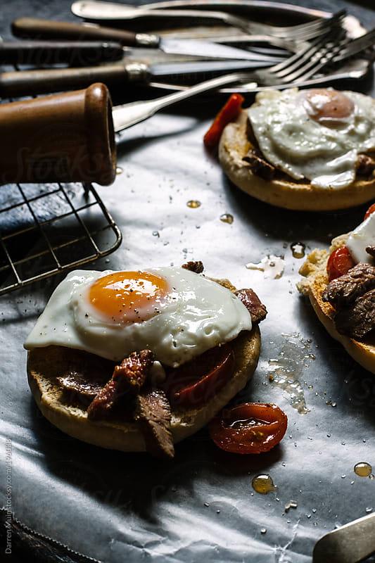 Steak and Eggs. by Darren Muir for Stocksy United