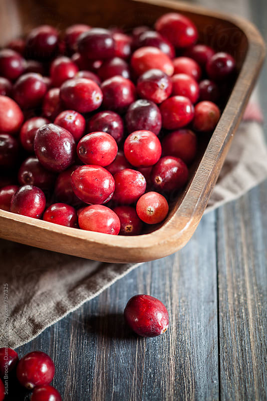 Fresh Cranberries  by Susan Brooks-Dammann for Stocksy United