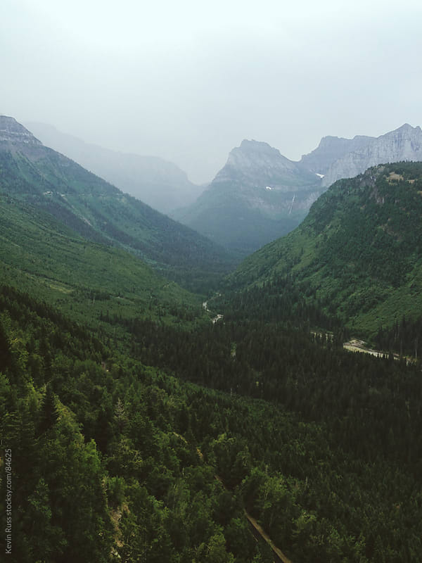 Glacier National Park by Kevin Russ for Stocksy United