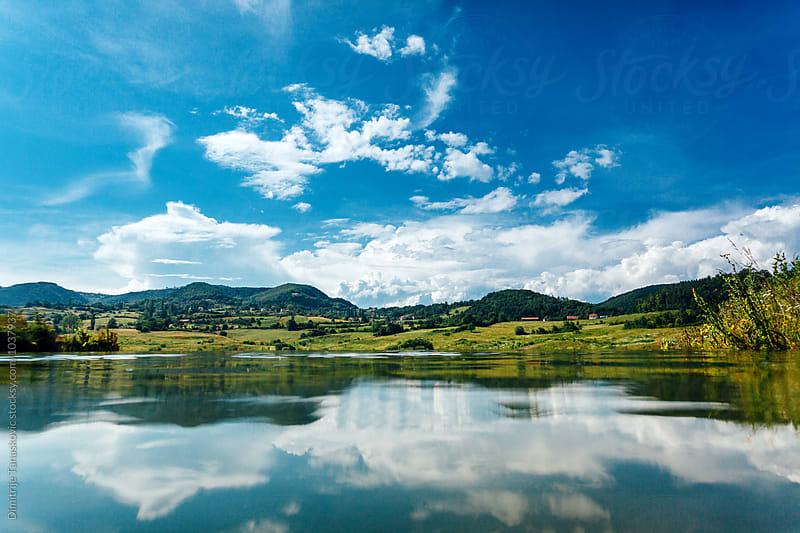 On the lake by Dimitrije Tanaskovic for Stocksy United