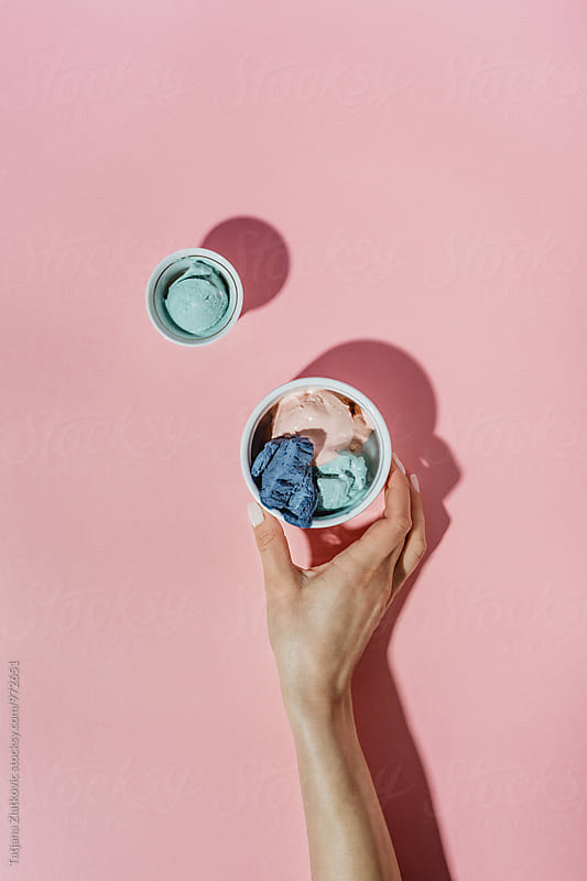 Ice cream by Tatjana Ristanic for Stocksy United