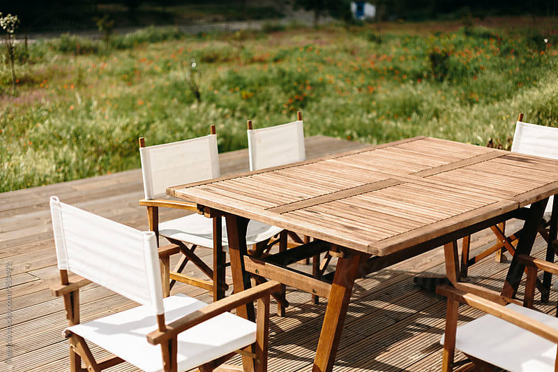 Terrace Furniture by Agencia for Stocksy United