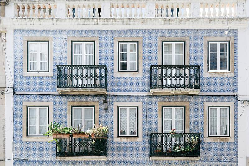 Lisbon Facade by Agencia for Stocksy United