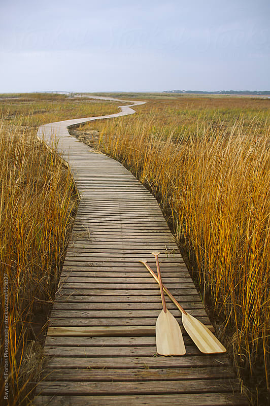 Boardwalk Cape Cod, Massachusetts by Raymond Forbes LLC for Stocksy United