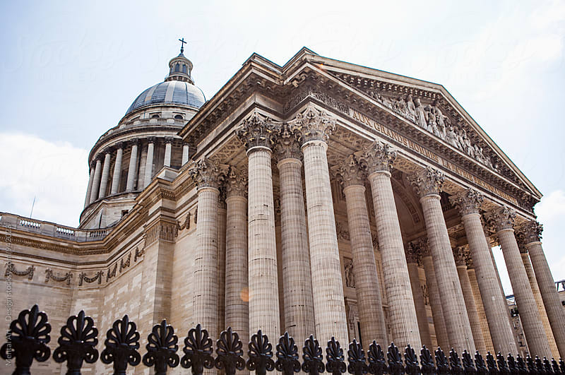 Pantheon, Paris, France by Mental Art + Design for Stocksy United