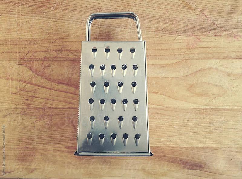 Cheese grater utensil by Greg Schmigel for Stocksy United