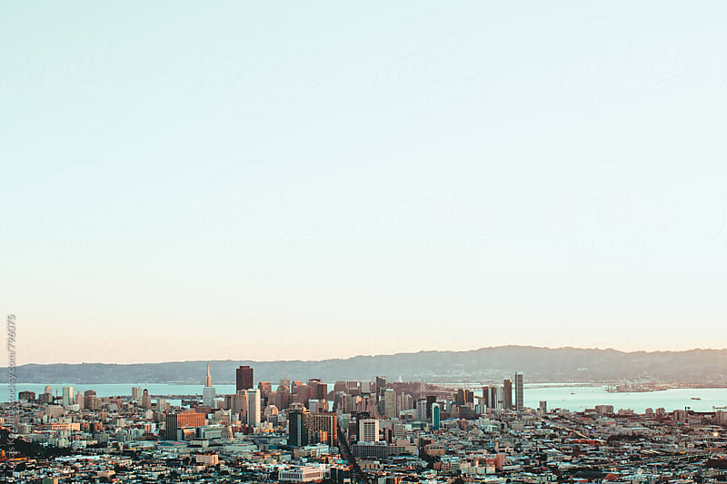 San Francisco by Lukas Korynta for Stocksy United