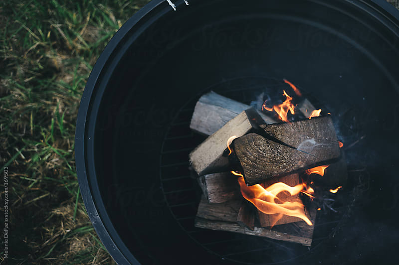 Firepit by Melanie DeFazio for Stocksy United
