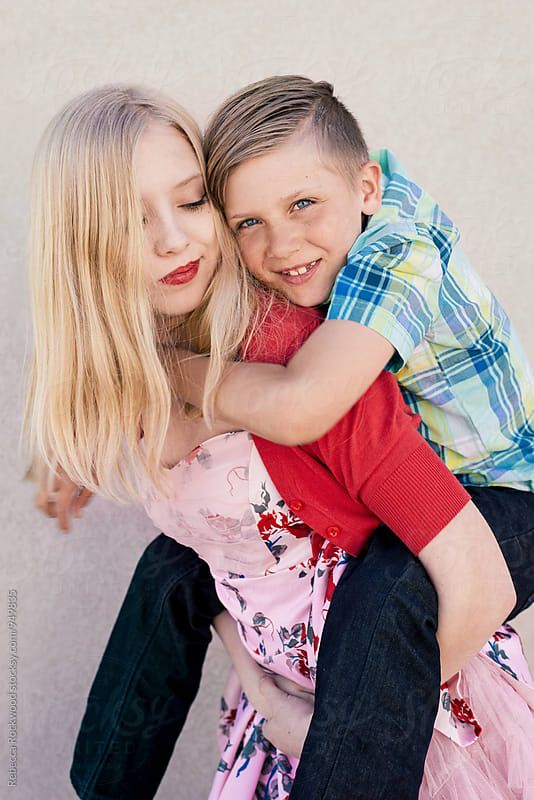 siblings by Rebecca Rockwood for Stocksy United