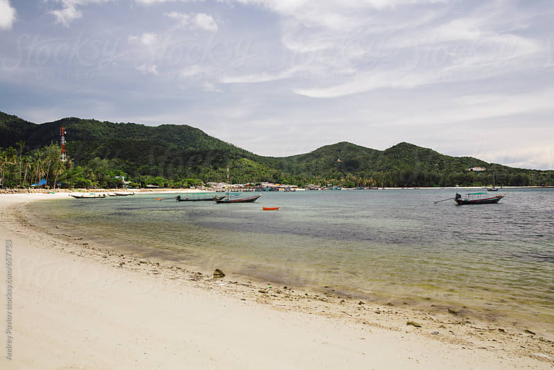 Chaloklum beach, Koh Phangan by Andrey Pavlov for Stocksy United