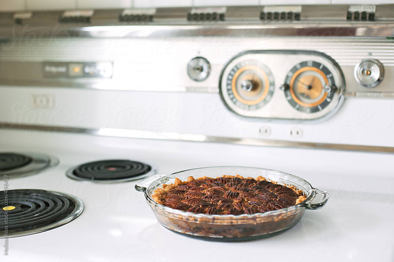 Pecan pie. by Melissa Ross for Stocksy United