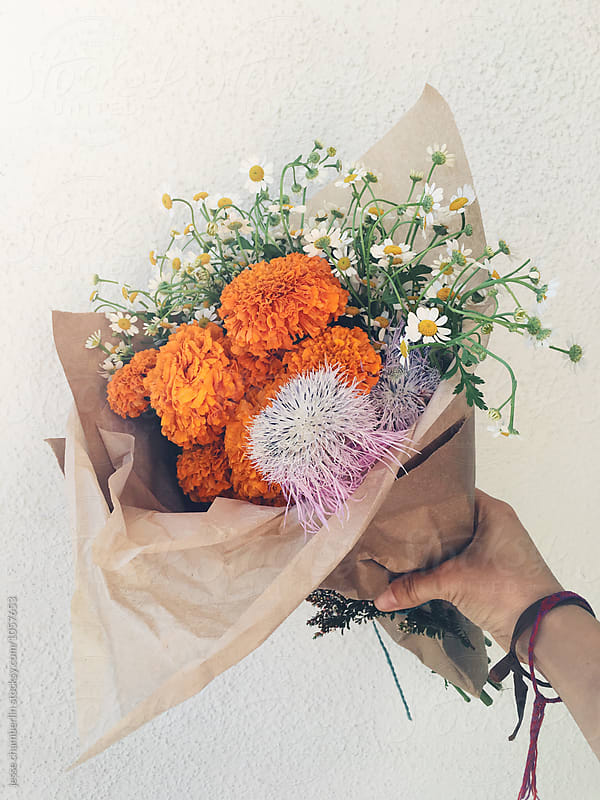 Bouquet by jesse chamberlin for Stocksy United