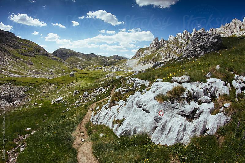 Rocky mountain landscape by Marko Milovanović for Stocksy United