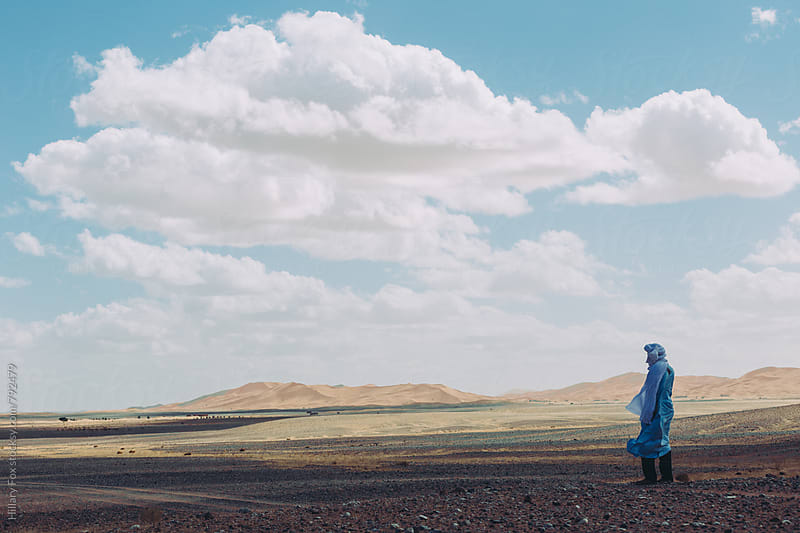 Alone in the Desert by Hillary Fox for Stocksy United