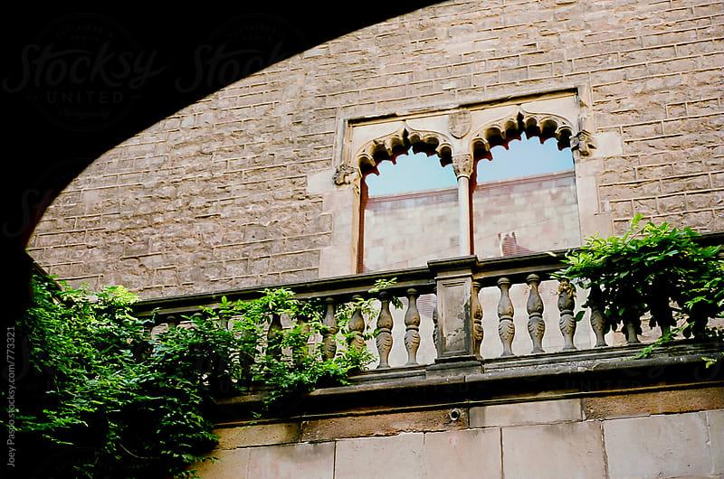 Barcelona Balcony and Windows by Joey Pasco for Stocksy United