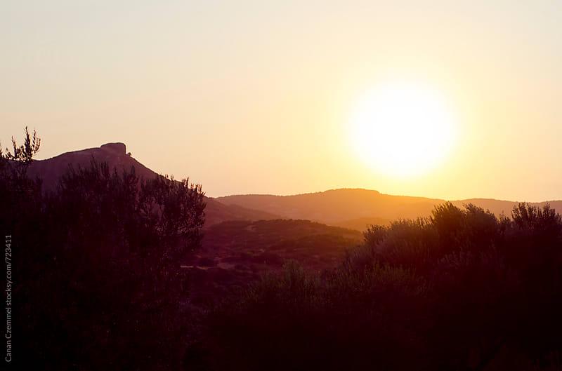 sunset in turkey by Canan Czemmel for Stocksy United