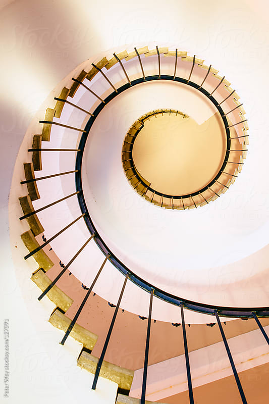 Spiral staircase by Peter Wey for Stocksy United