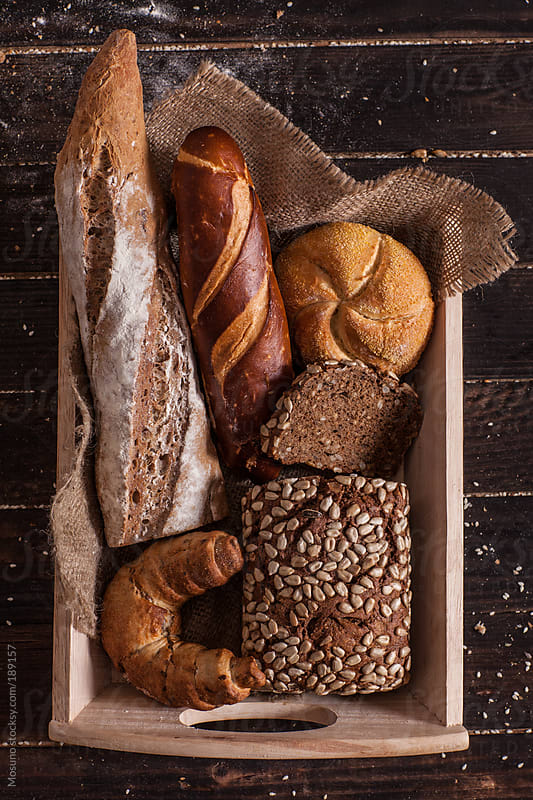 Basket Full of Different Pastries by Mosuno for Stocksy United